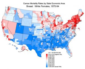 prevent breast cancer map